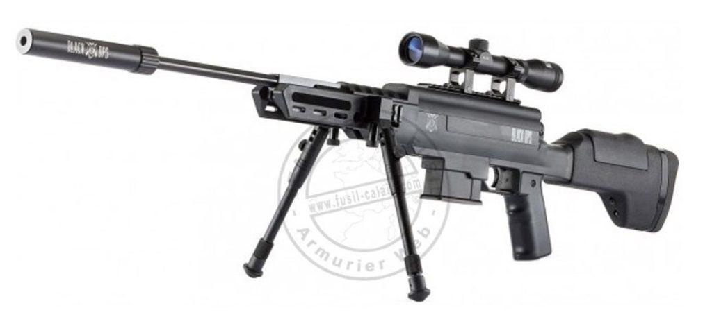Carabine à plomb black ops sniper