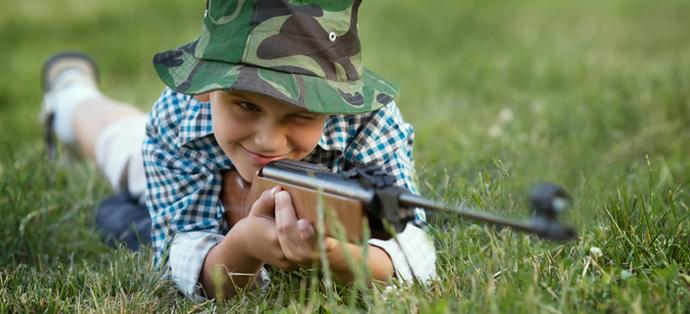 carabine à plomb enfant