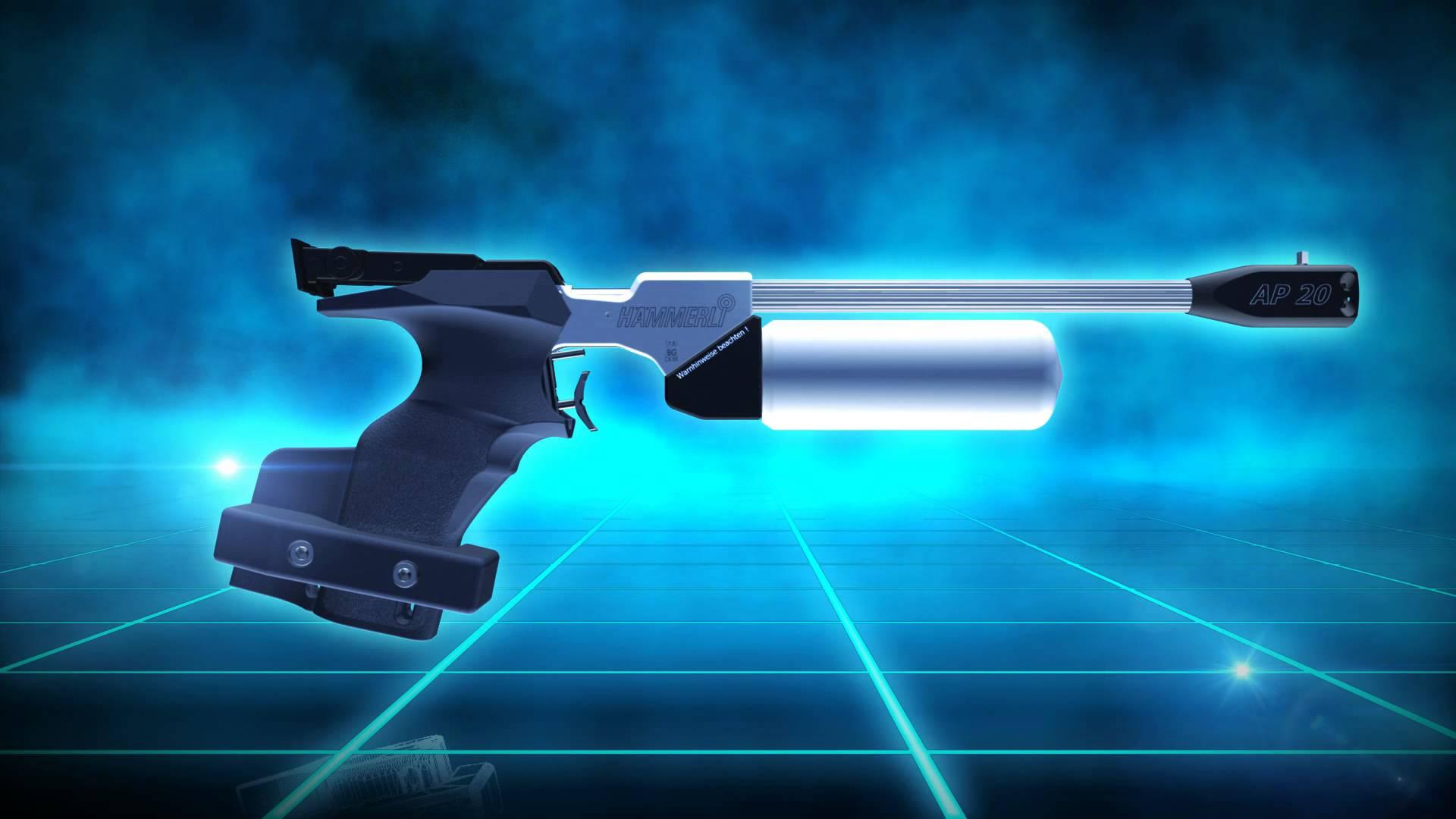 Pistolet Hammerli ap 20