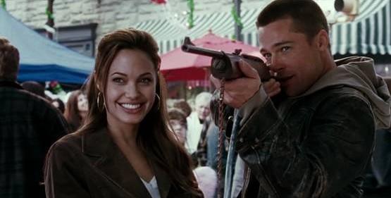 tir à la carabine à plomb mr and mrs smith